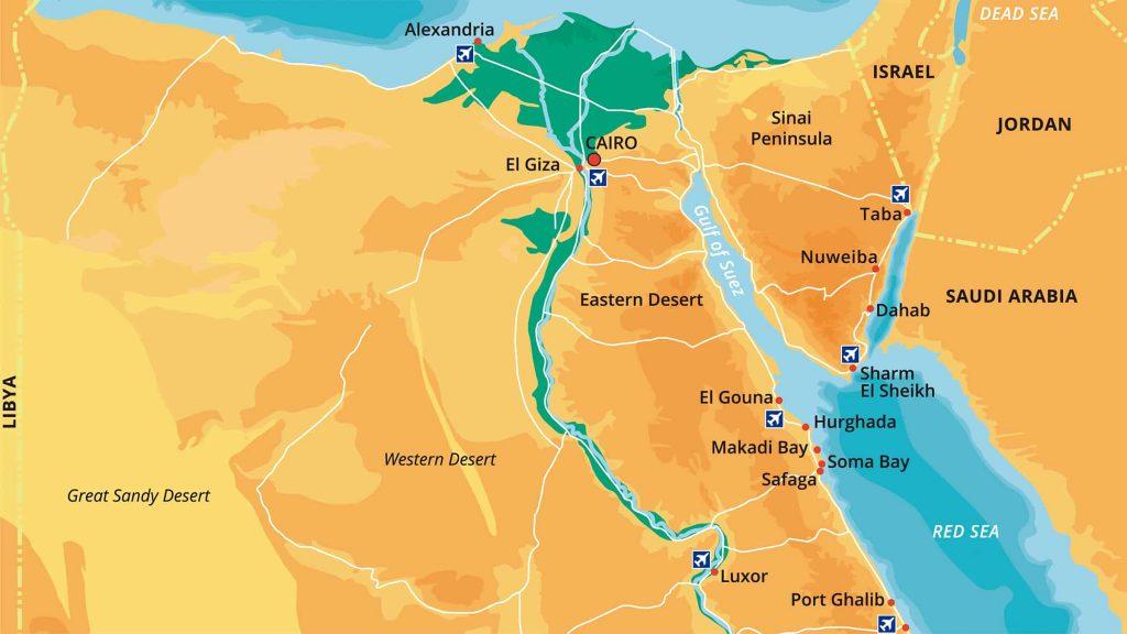 Itinerario 10 días en Egipto
