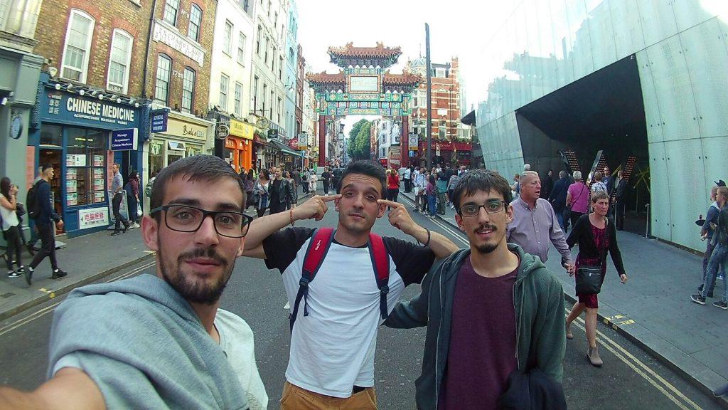Londres en un día China Town