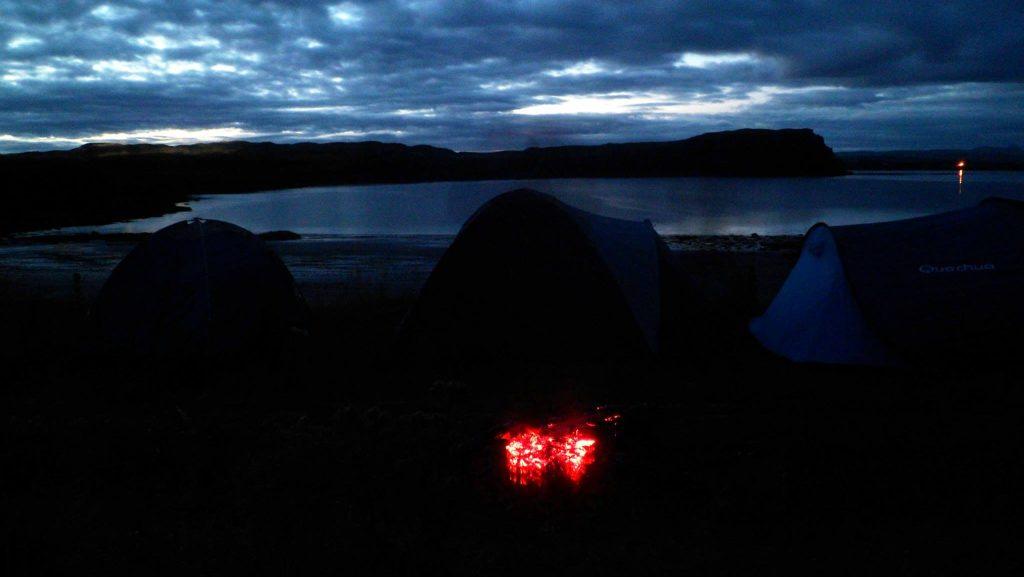 ¿Cómo conseguir alojamiento gratis o casi gratis? Camping Skye Island