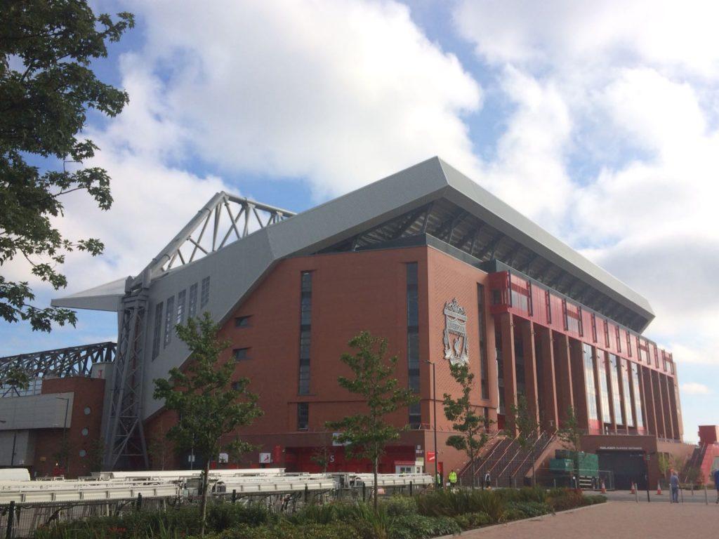 ¿Qué visitar en Liverpool? Anfield Estadio fútbol