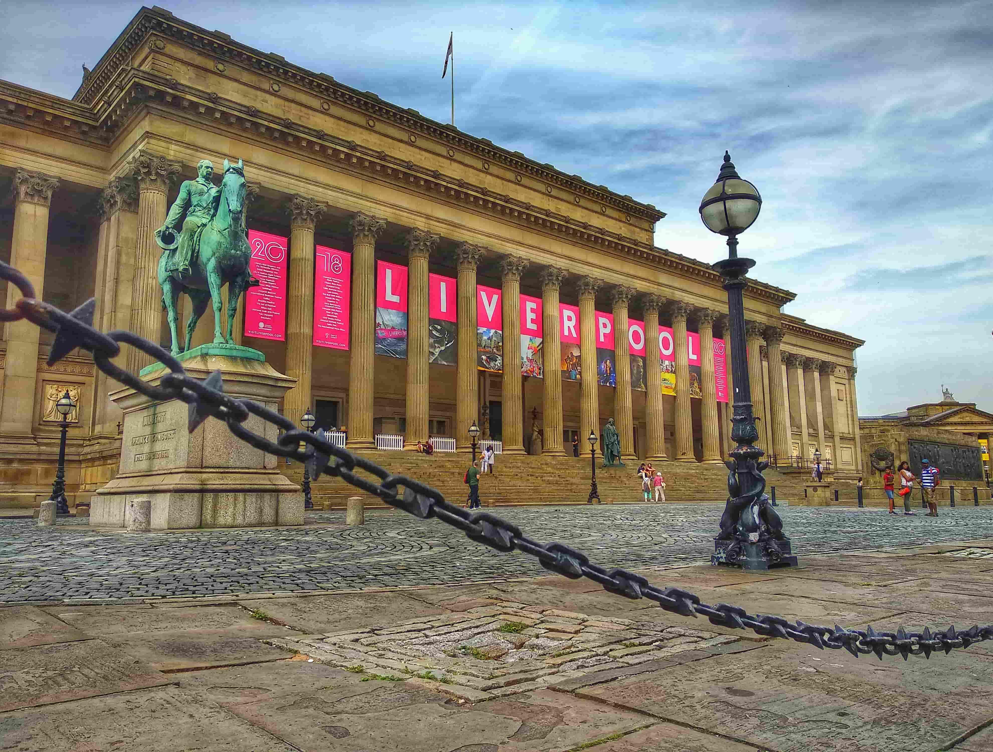¿Qué visitar en Liverpool? St. Geoge´s Hall Liverpool