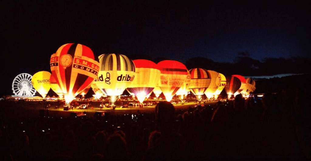 ¿Qué visitar en Bristol? The Bristol International Balloon Fiesta