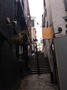 ¿Que ver en Bristol? Christmas Steps Bristol