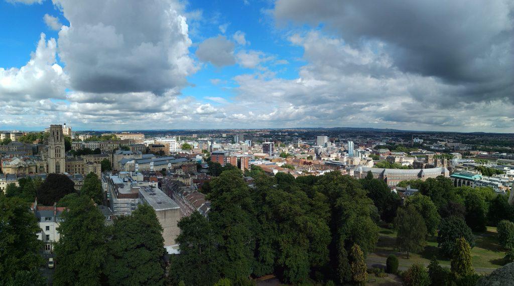 ¿Que ver en Bristol? Vistas Cabot Tower Bristol