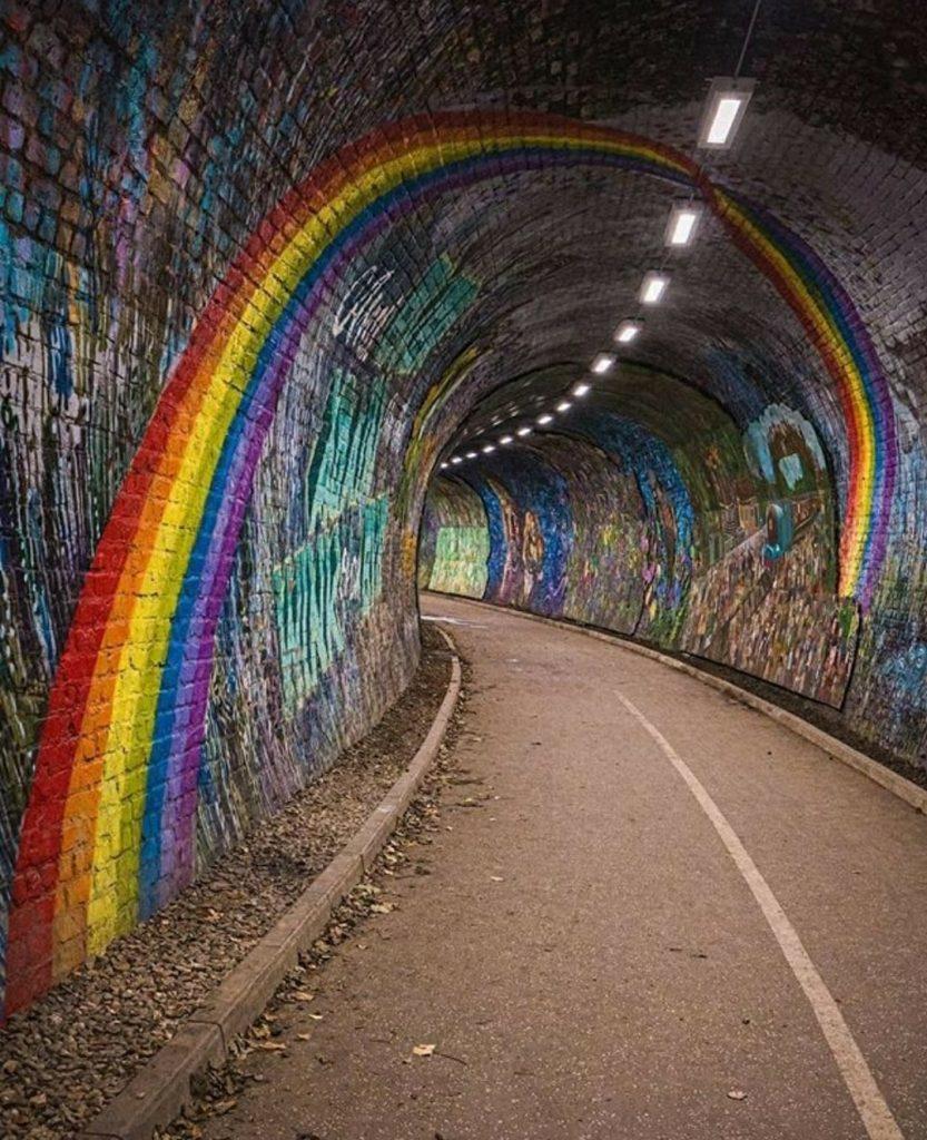 The Colinton Tunnel Edinburgh