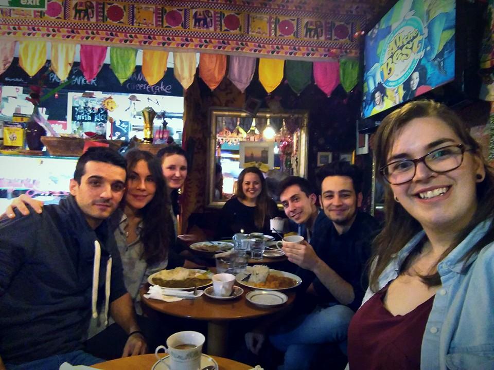 Dónde comer en Edimburgo 10 to 10 in Dheli Edimburgo