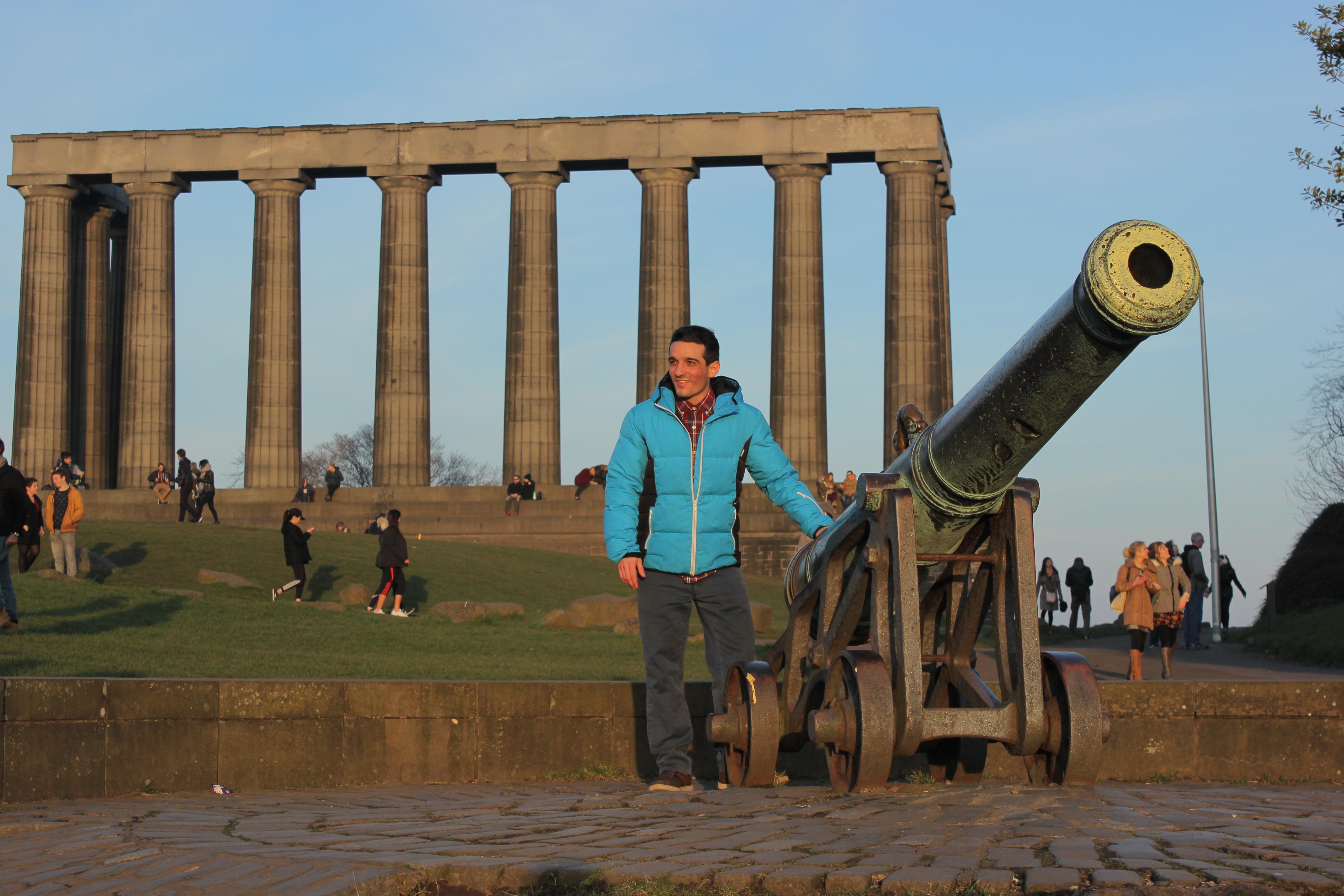 Calton Hill Edimburgo Dónde comer en Edimburgo