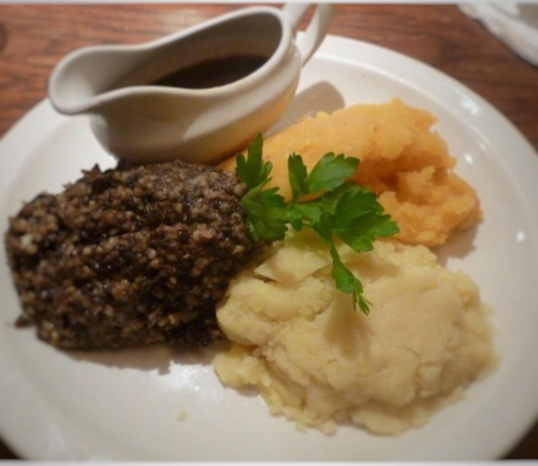 Haggis, Comida típica en Edimburgo