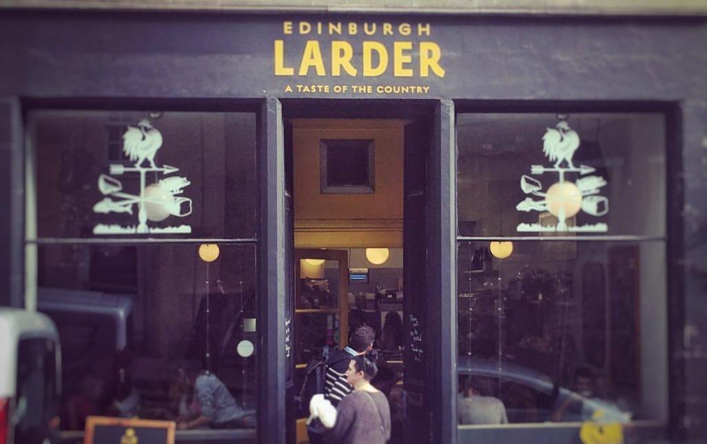 Larder Dónde comer en Edimburgo
