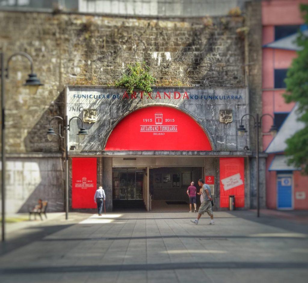 Qué ver en Bilbao en un día - Funicular de Artxanda