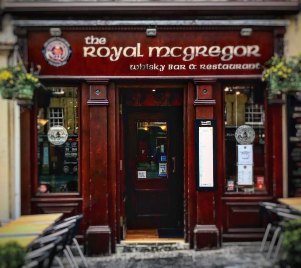 The Royal Mcgregor Dónde comer en Edimburgo
