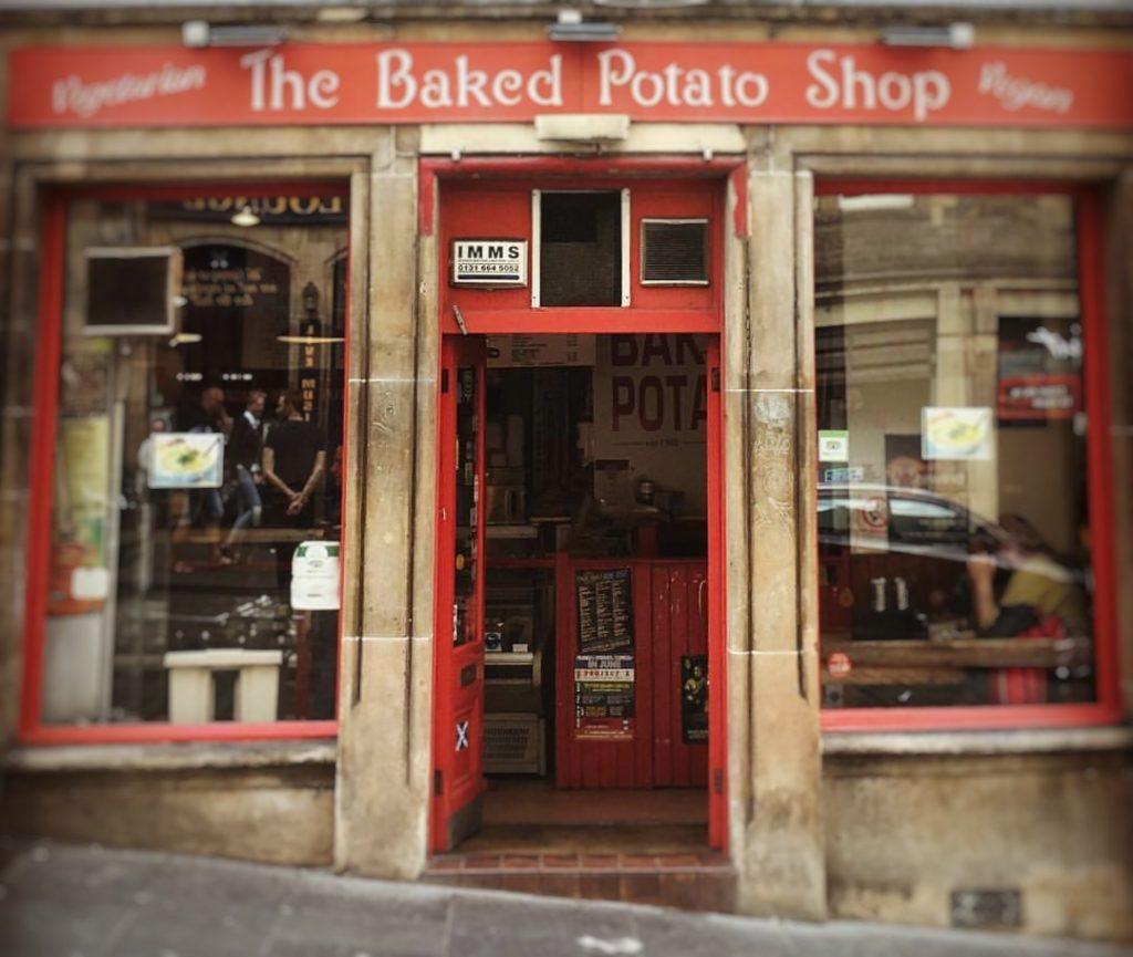 The baked potato shop Dónde comer en Edimburgo