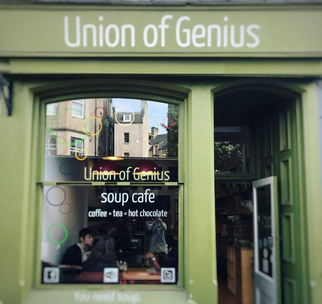 Union of Genious Dónde comer en Edimburgo