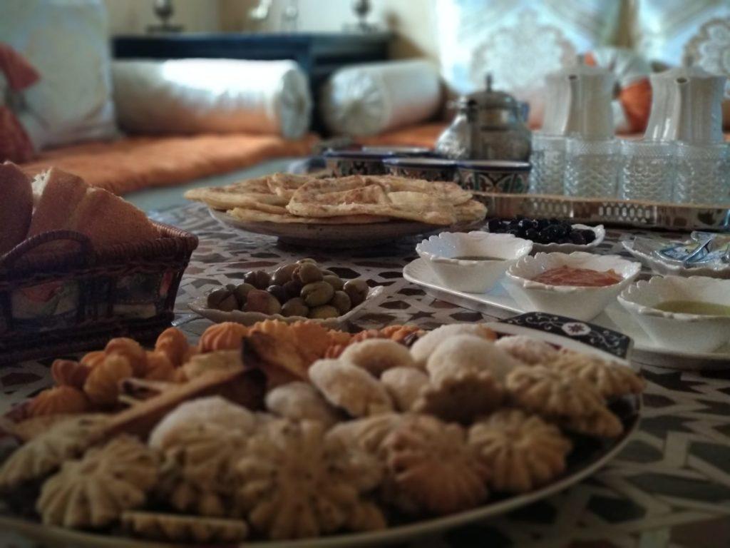 Comida típica marroquí - Desayuno típico marroquí
