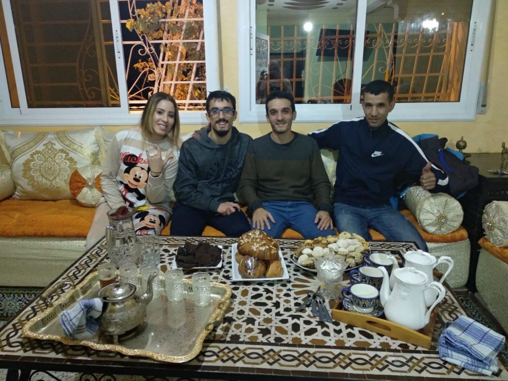 Comida típica marroquí - Dulces y pastas marroquíes