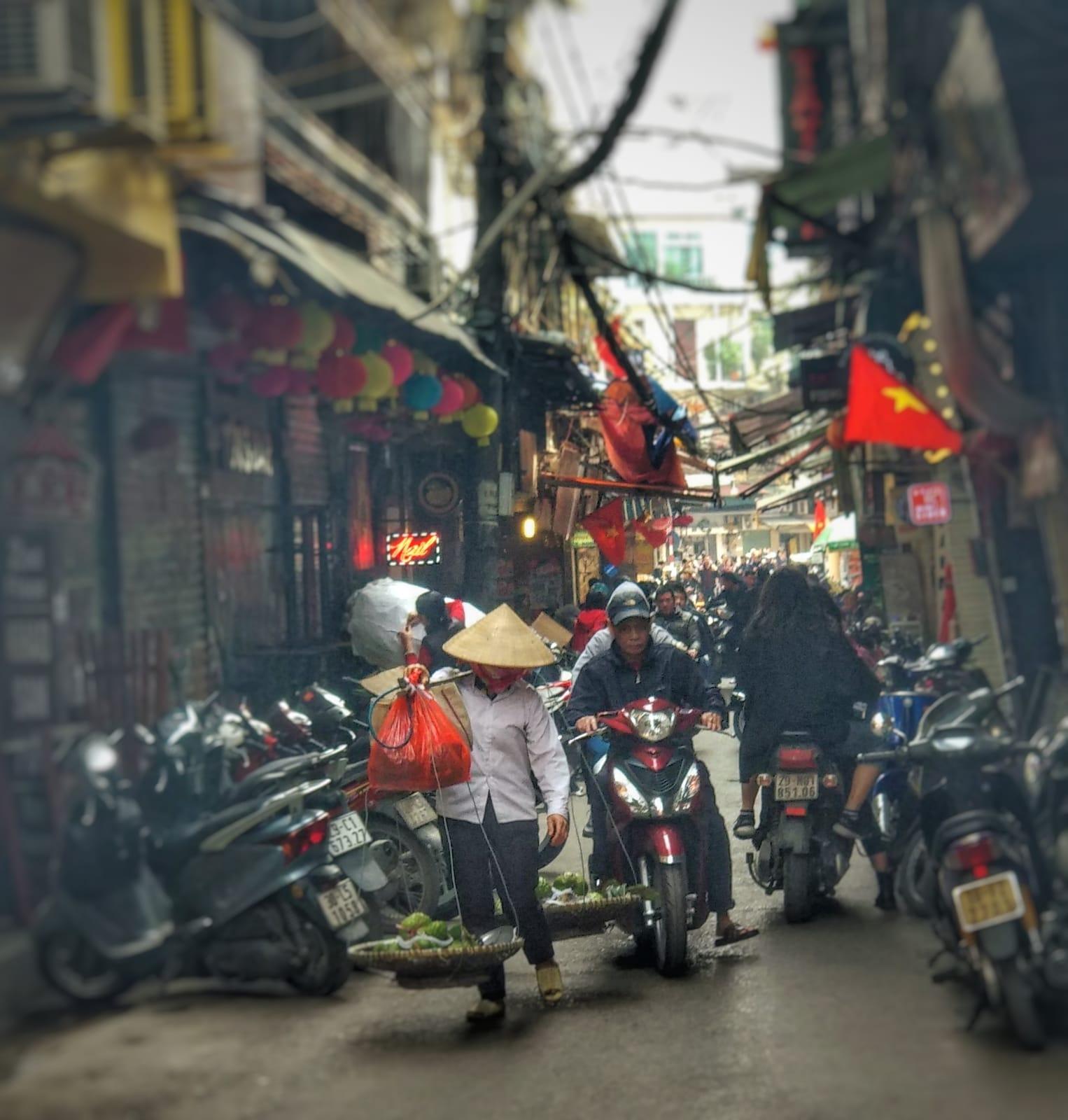 Qué ver en Hanoi - Calle Old Quarter Hanoi