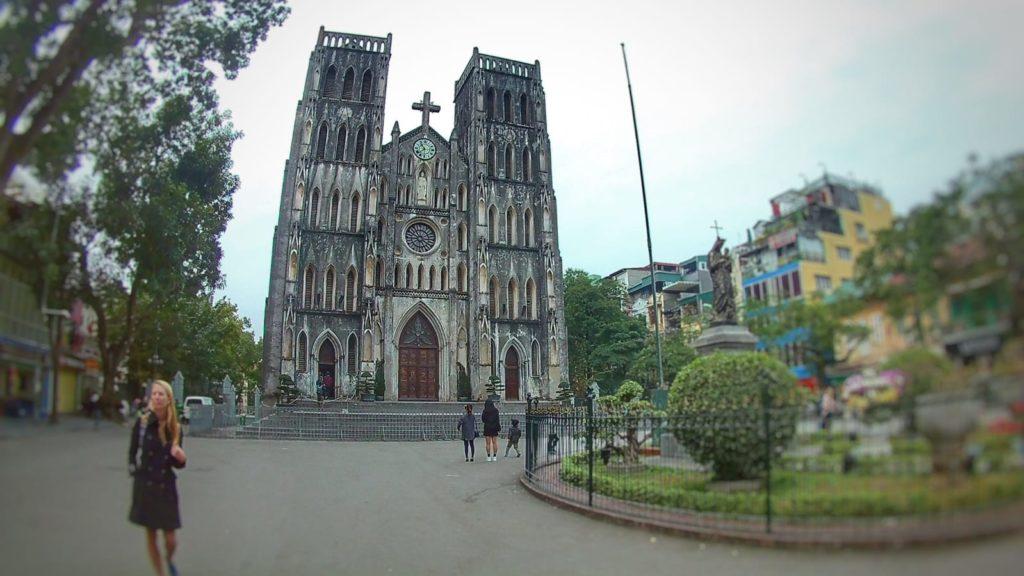 Qué ver en Hanoi - Catedral de San Jose (Notre Daem)