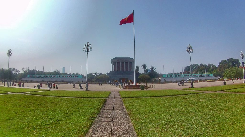 Qué ver en Hanoi - Mausoleo Ho Chi Minh