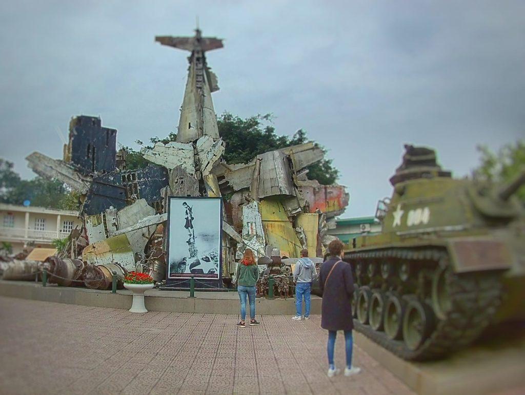 Qué ver en Hanoi - Museo de la guerra de Vietnam