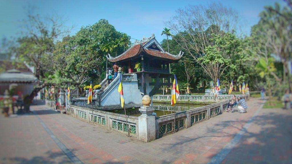 Qué ver en Hanoi - Pagoda del Pilar Único