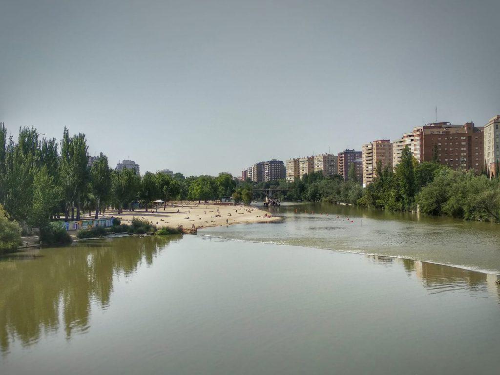 Qué ver en Valladolid - Playa de las Moreres Valladolid - Río Pisuerga Valladolid