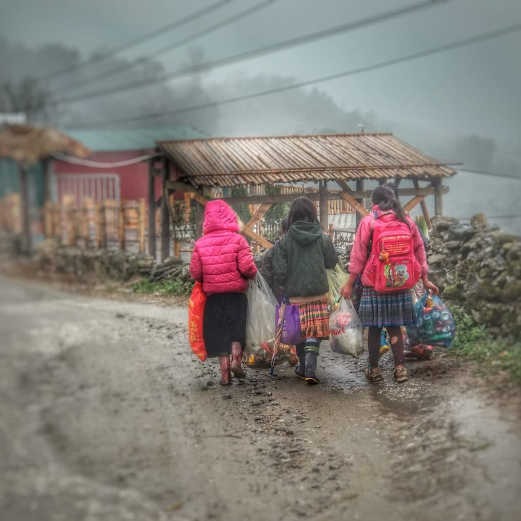 Mi experiencia en Sapa, Vietnam. - Lao Cai Niñas