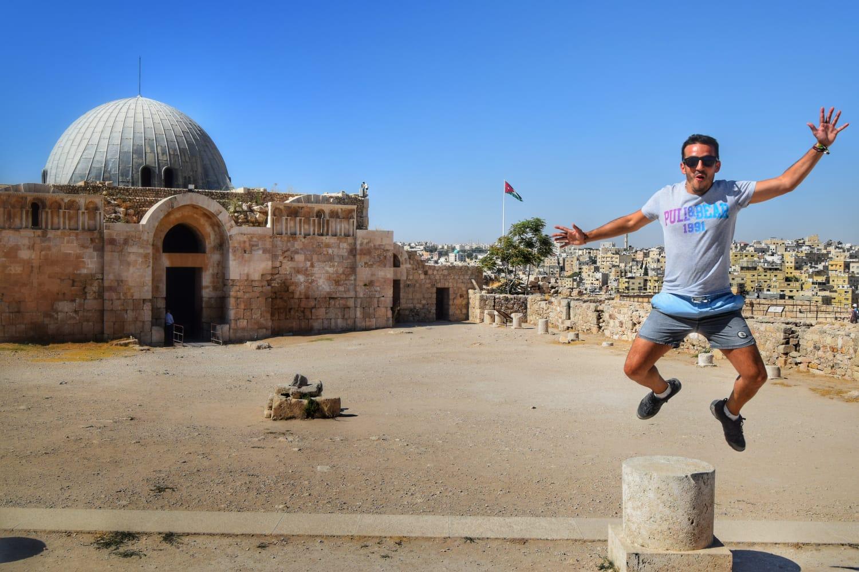 Ciudadela Ammán Jordania. Qué ver en Jordania en un día.