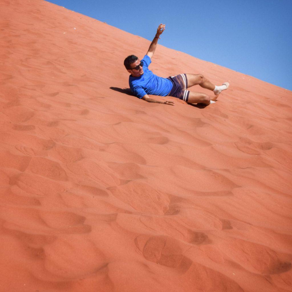 El desierto del Wadi Rum (Jordania) -Wadi Rum Dunas Jordania
