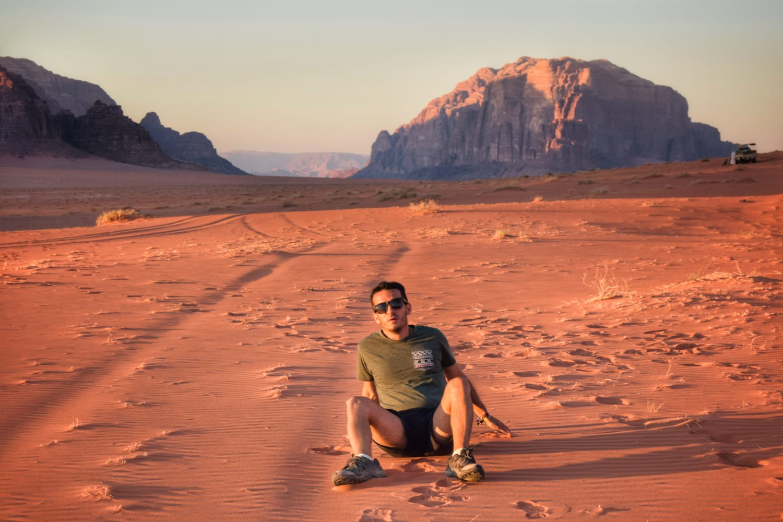 El desierto del Wadi Rum (Jordania)