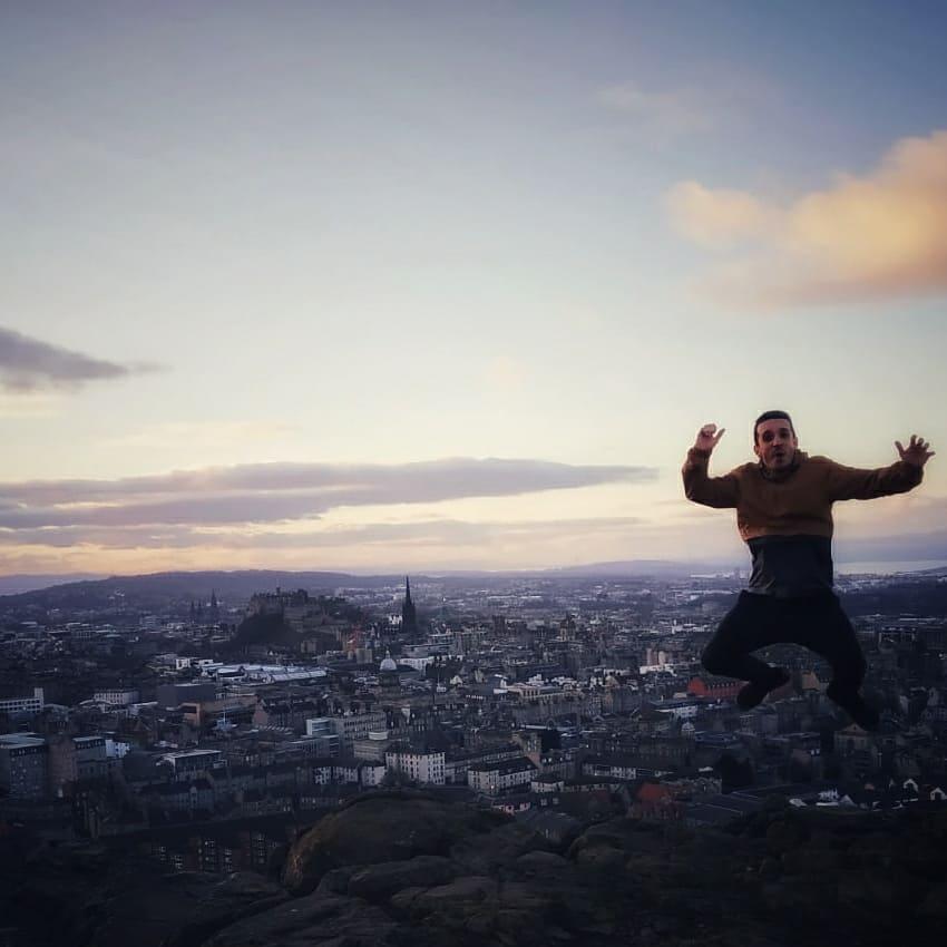 Arthur´s seat Edinburgh