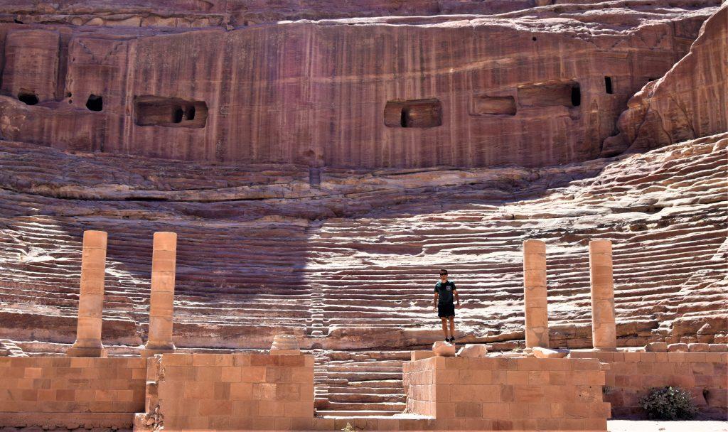 La ciudad de Petra, Jordania