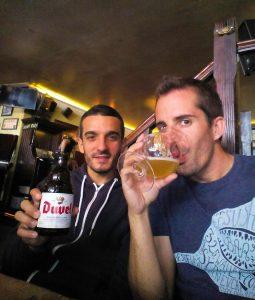 Cerveza Duvel en Holanda