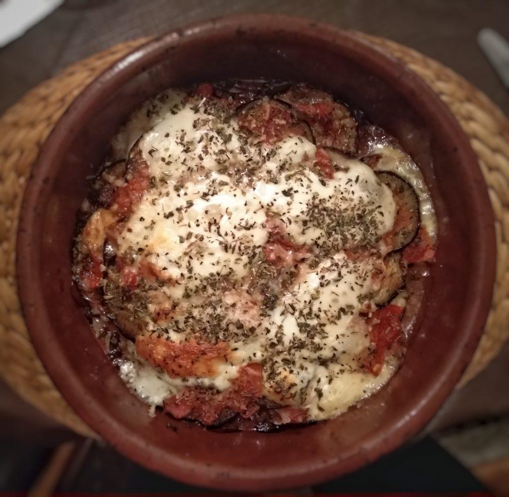 Berenjenas a la parmesana - Viaje a Italia a través de alguno de sus platos.