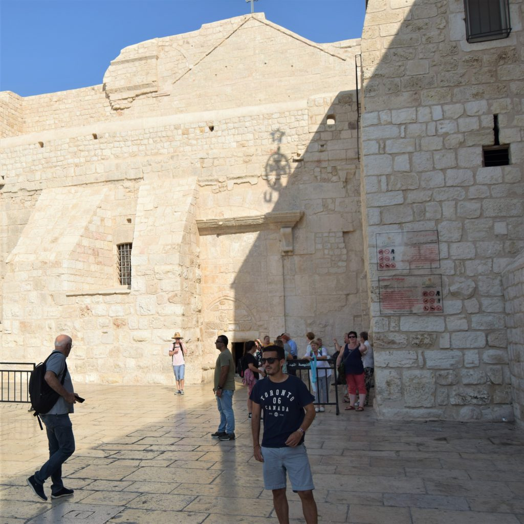 Qué ver en Belén - La Iglesia o basílica de la Natividad - Palestina