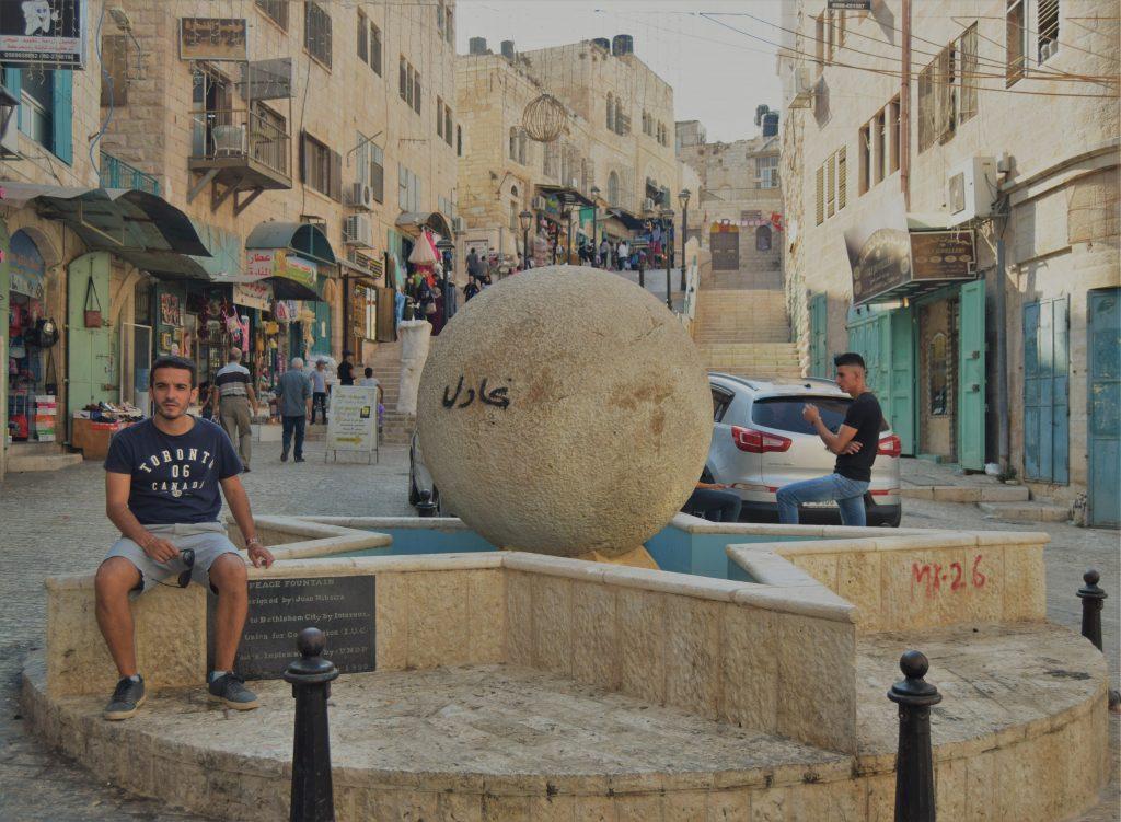 Qué ver en Belén - Peace Fountain Bethlehem en Casco antiguo Belén- Palestina