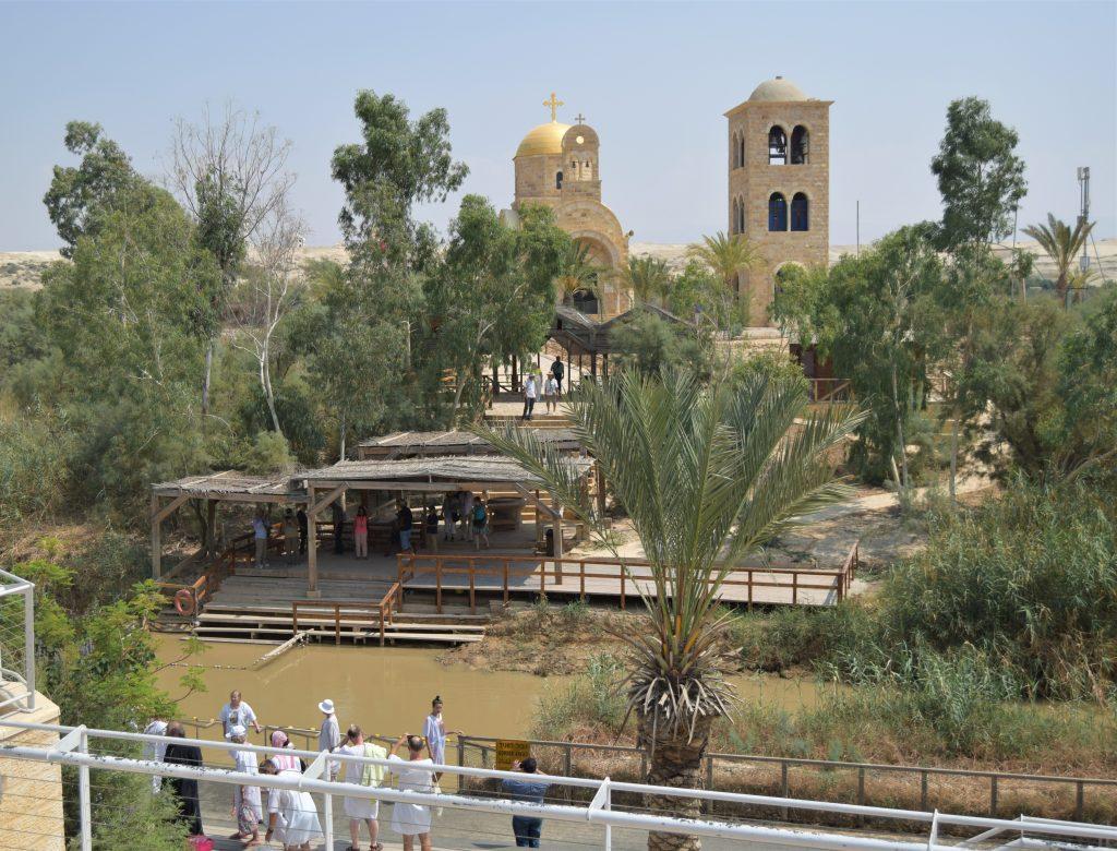 Qué ver en Jericó, Palestina - The Baptismal Site of Jesus Christ Río Jordan