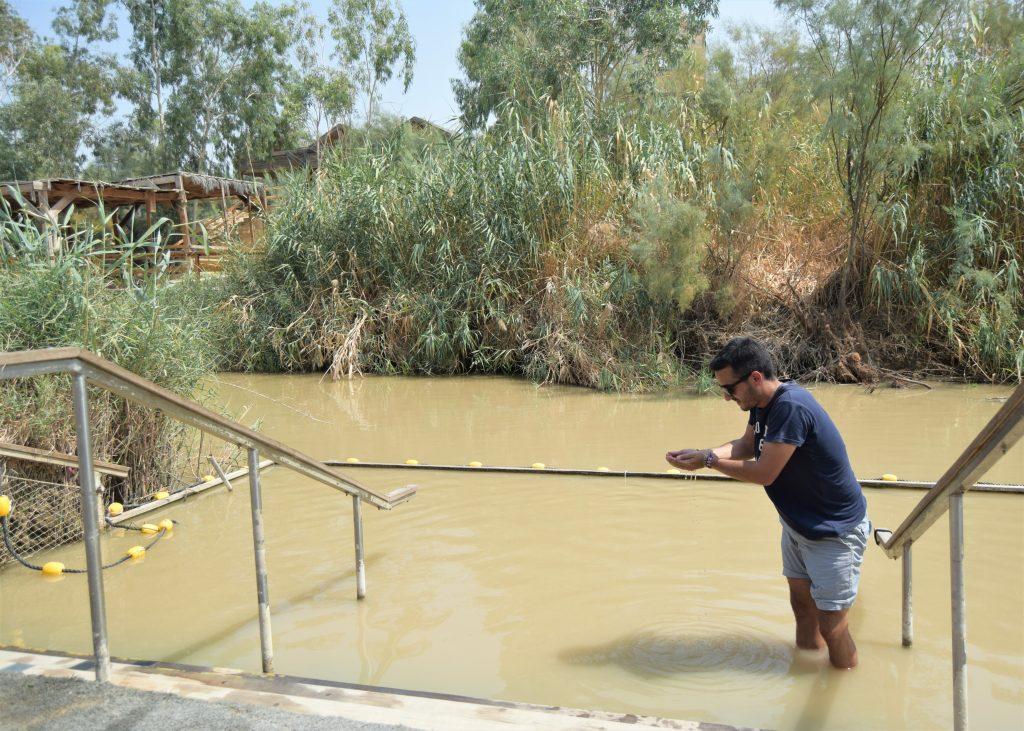 Qué ver en Jericó, Palestina - The Baptismal Site of Jesus Christ Río Jordan.