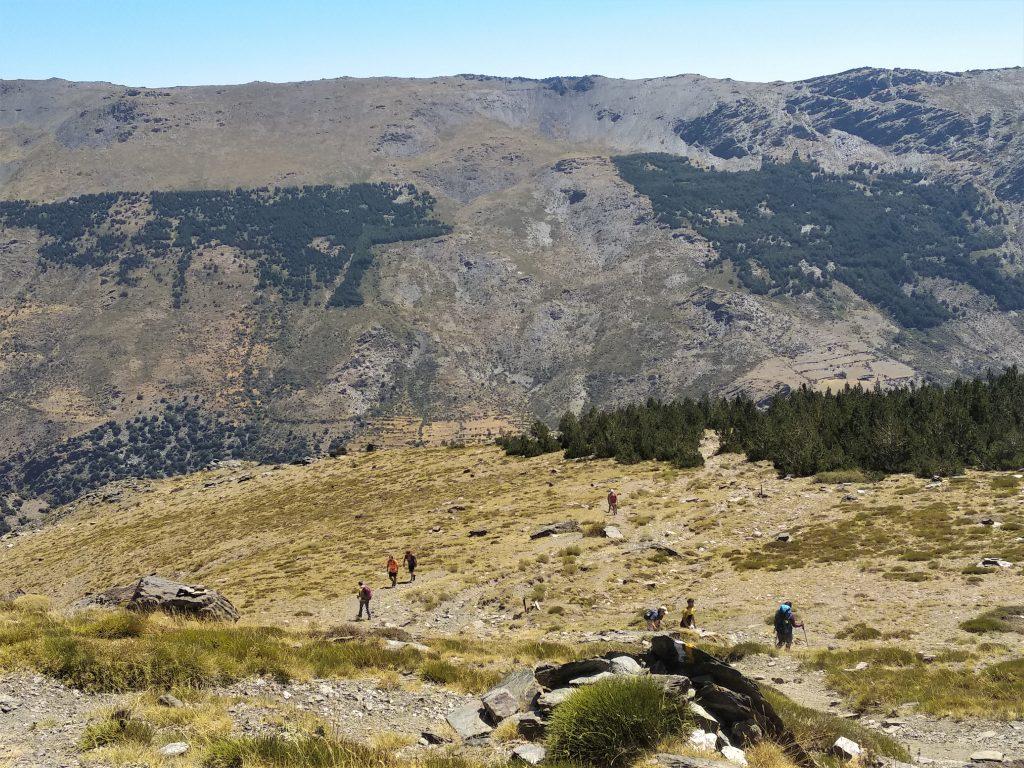 Subida al Mulhacén desde Trevélez - Subida a Refugio La Campiñuela