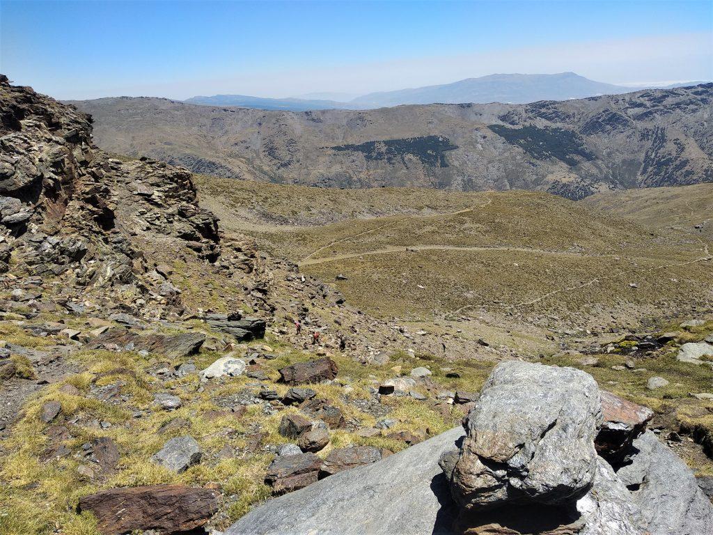 Subida al Mulhacén desde Trevélez - Vistas desde Laguna Hondera