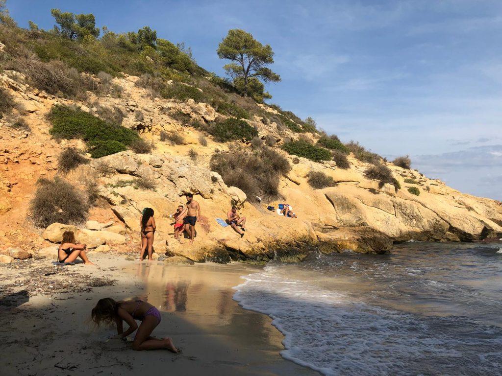 Caló de la Belladona en Platja de Formentor - Mallorca