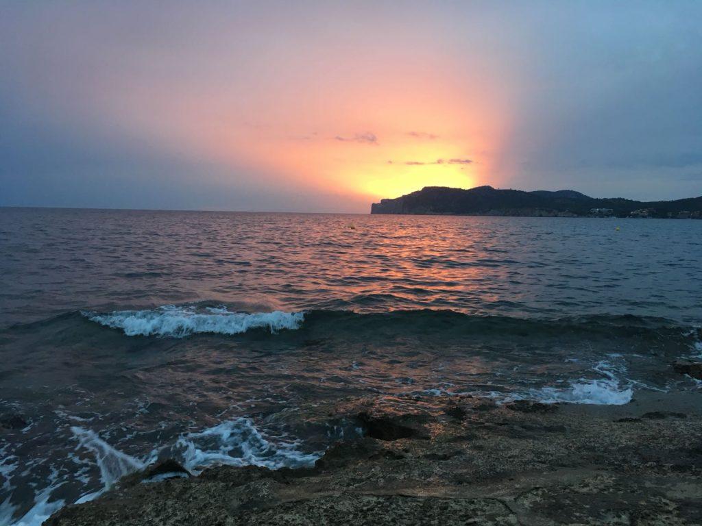 Chiringuito en Costa de la Calma - Sunset - Mallorca